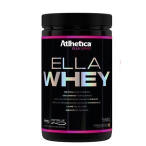 Ella Whey Atlhetica Nutrition - Morango - 600 G