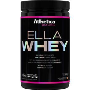 Ella Whey (Pt) 600G Ella Series - Atlhetica - Morango