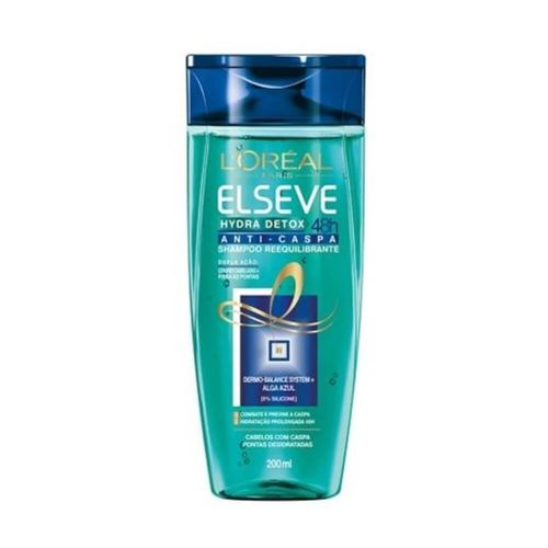Elseve Hydra Detox Shampoo Anticaspa 200ml