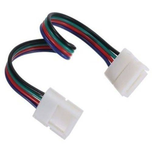 Tudo sobre 'Emenda Rápida para Fita de Led Rgb 3528-5050-10mm Conector'