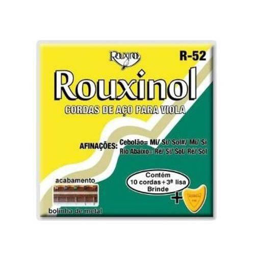 Tudo sobre 'Encordoamento Corda Rouxinol Viola R52'