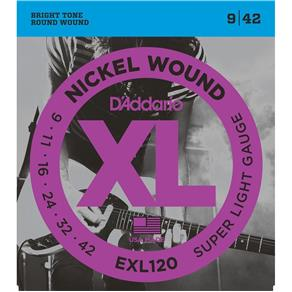 Encordoamento D`Addario Guitarra EXL120 - 009