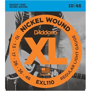 Encordoamento D`Addario Guitarra EXL110 - 010