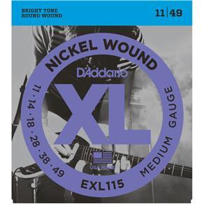 Encordoamento D`Addario Guitarra EXL115 - 011