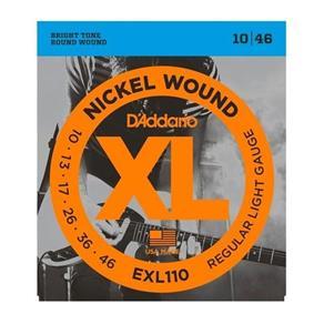 Encordoamento Daddario Exl110 010 para Guitarra