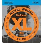 Encordoamento D'Addario Guitarra EXL110 - 010
