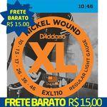 Encordoamento D'addario P/ Guitarra 0,10 Exl110