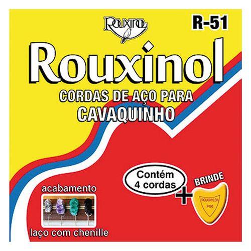 Tudo sobre 'Encordoamento de Aço para Cavaquinho R51 ROUXINOL'