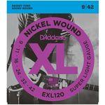 Encordoamento Guitarra D Addario Exl120 009.042