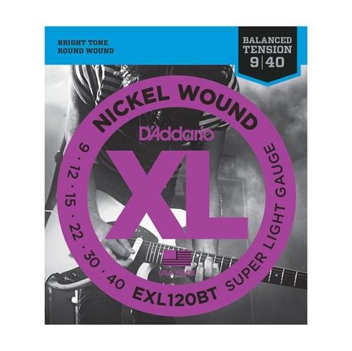 Encordoamento Guitarra EXL120 09 D'addario