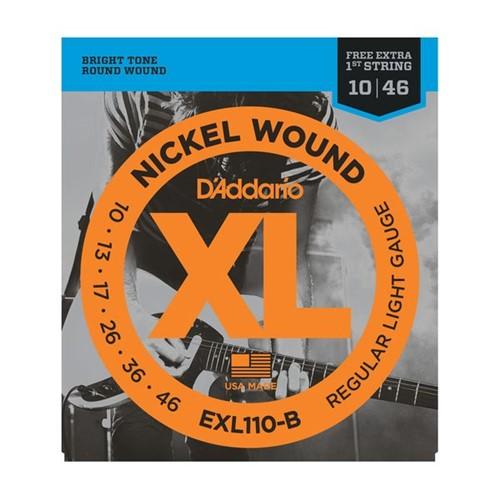 Encordoamento Guitarra EXL110 010 D'addario