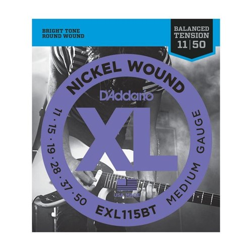 Encordoamento Guitarra EXL115 011 Daddario