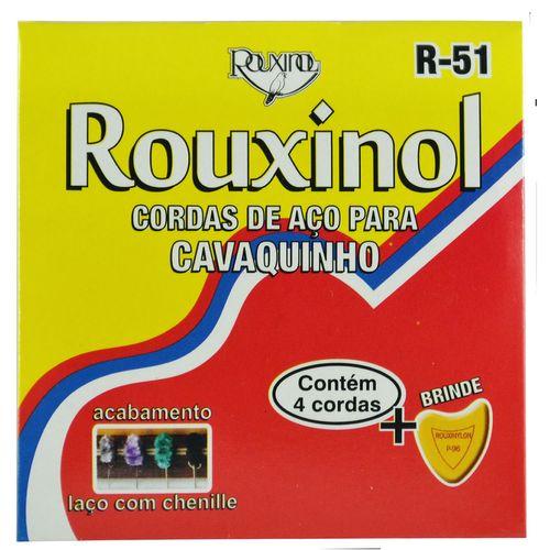 Encordoamento Inox para Cavaquinho com Laço Chenilha - Rouxinol