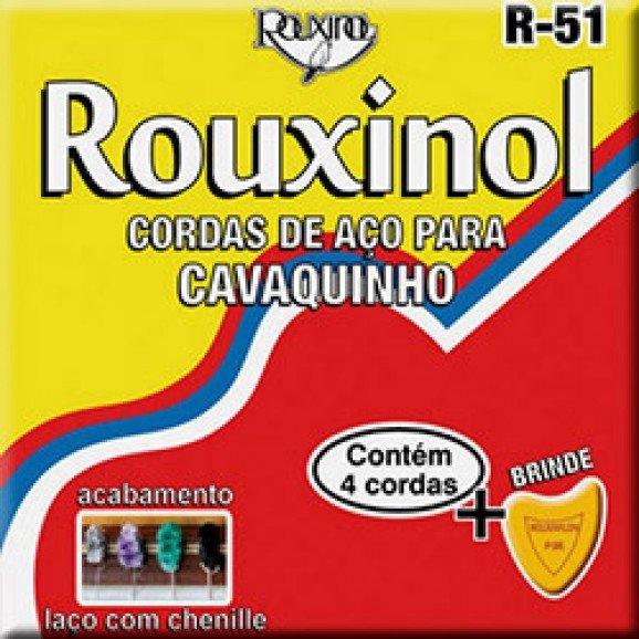 Encordoamento para Cavaquinho Tradicional em Aço R-51 Rouxinol