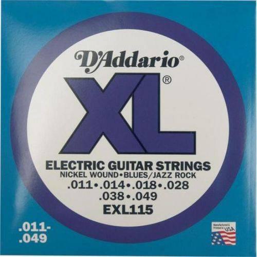 Encordoamento para Guitarra 0.11 EXL115B D`Addario