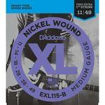 Encordoamento para Guitarra 0.11 EXL115B D'ADDARIO