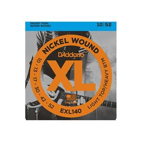 Encordoamento para Guitarra D`Addario Exl140 010
