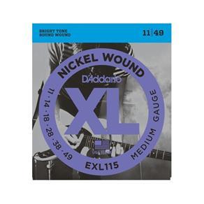Encordoamento para Guitarra EXL115-B .011-.049 D'addario