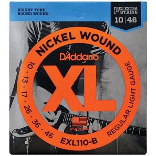 Encordoamento para Guitarra Nickel Wound Exl110 Daddario