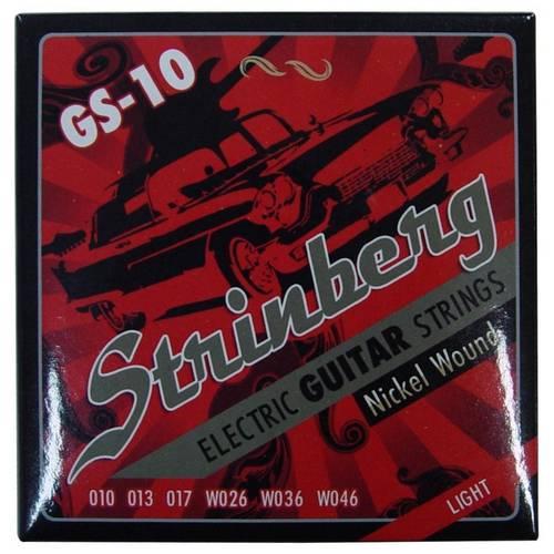 Tudo sobre 'Encordoamento Strinberg Gs-10 para Guitarra'