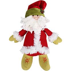 Enfeite Papai Noel em Pé - Decorville