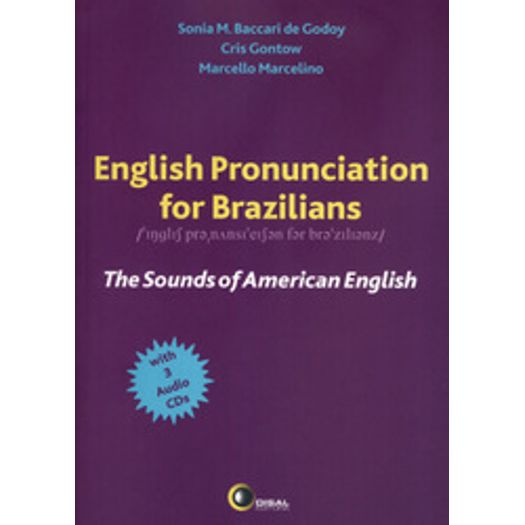 Tudo sobre 'English Pronunciation For Brazilians - Disal'