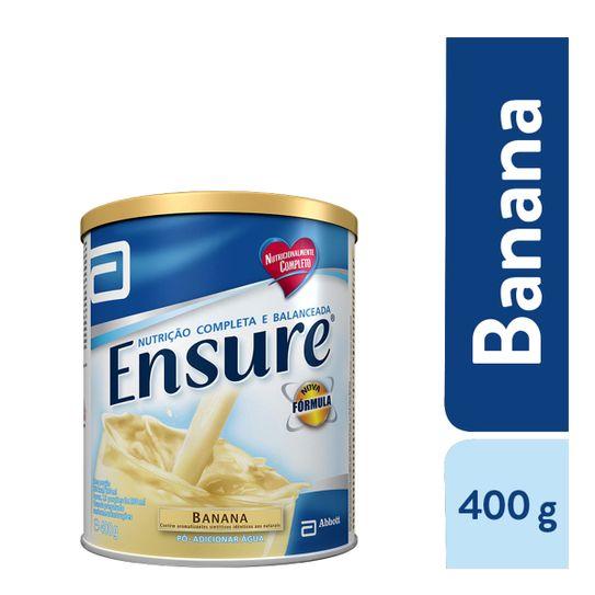 Tudo sobre 'Ensure Banana 400g'