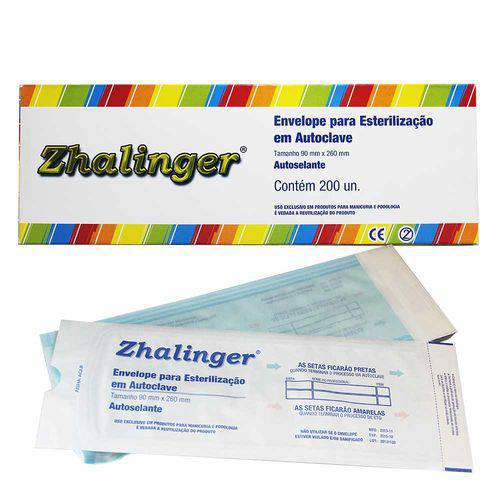 Tudo sobre 'Envelope para Esterilização em Autoclave Zhalinger'