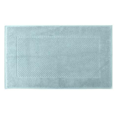 Enxovais Banho Adulto Toalha Piso Buddemeyer -Fio Penteado P/ Pes Luxor Azul Claro