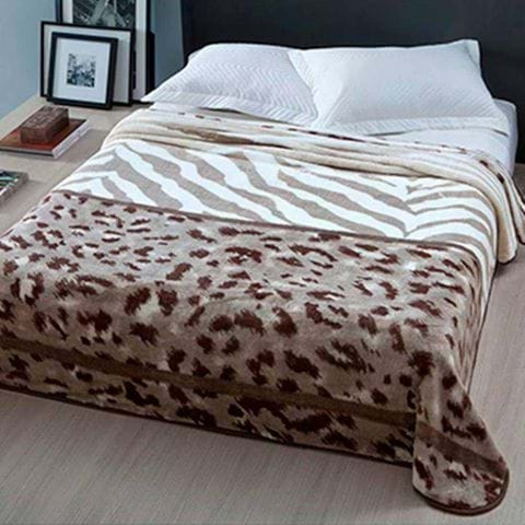 Tudo sobre 'Enxovais Cama Adulto Casal Padrao Cobertor Corttex -Microfibra Home Design Gana Marrom'