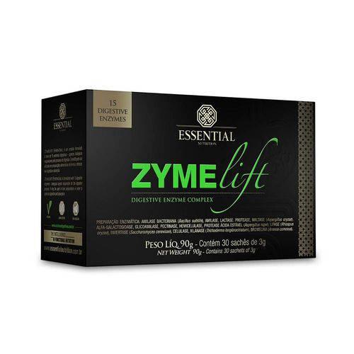 Enzimas Digestivas Zymelift - Essential Nutririon - 30 Sachês 3grs.