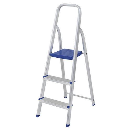 Tudo sobre 'Escada Alumínio 3 Degraus'