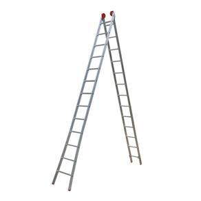 Escada Alumínio 3 em 1 Extensiva 13x2 Degraus