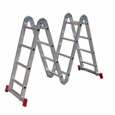 Tudo sobre 'Escada Articulada 4x4 com 16 Degraus de Alumínio BOTAFOGO ESC0293 ESC0293'