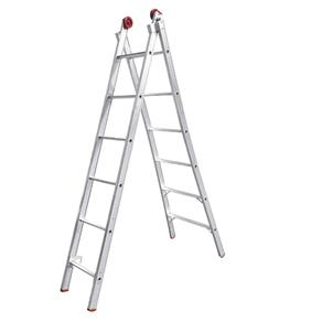 Escada de Alumínio Dupla 2x13 Extensiva Worker