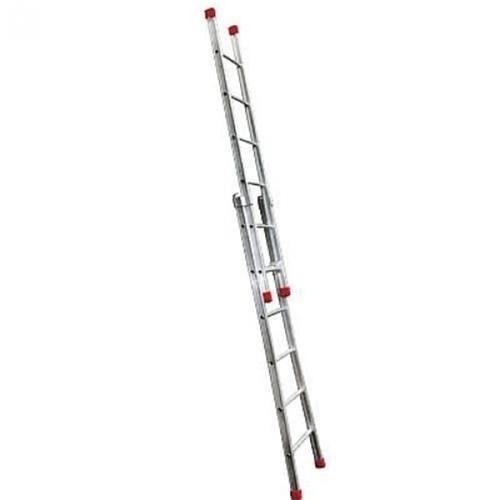 Escada de Alumínio Extensível 2 X 7 Degraus 2,40 X 3,90 M - Modelo 3 em 1 - Rotterman
