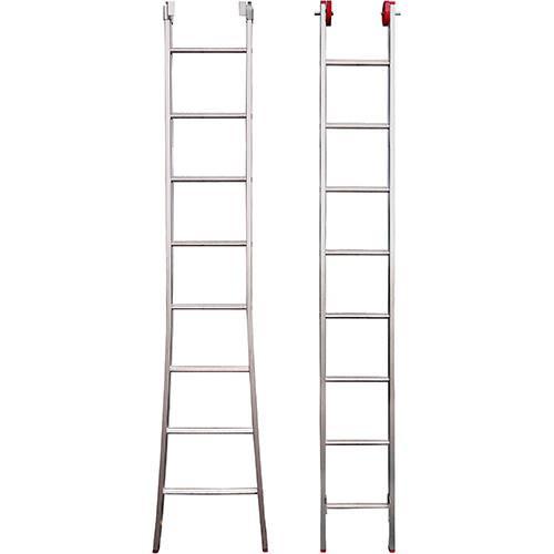 Escada 3 em 1 Extensiva Botafogo Lar&Lazer Alumínio 2x8 Degraus