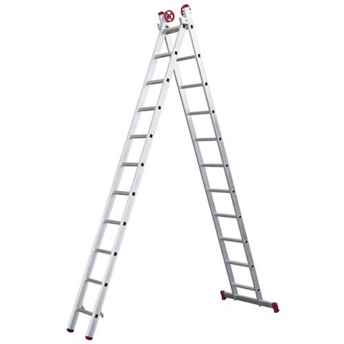 Escada 3 em 1 Extensível 11x2 Degraus Botafogo