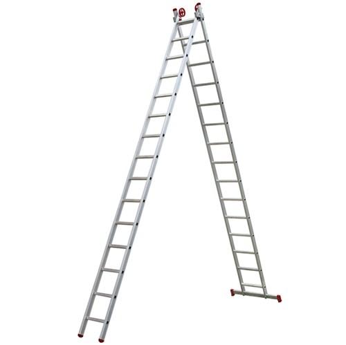 Escada 3 em 1 Extensível 15x2 Degraus Botafogo