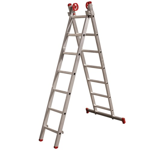 Escada 3 em 1 Extensível 7x2 Degraus Botafogo