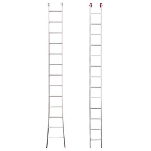 Escada Extensiva 2x13 Degraus Alumínio 3 em 1 7,20m Botafogo