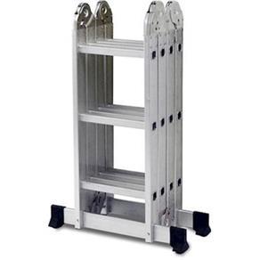 Tudo sobre 'Escada Multifuncional 4x3 12 Degraus - Mor'