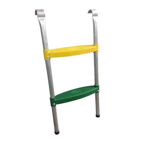 Tudo sobre 'Escada para Cama Elástica e Pula Pula - 2 Degraus'
