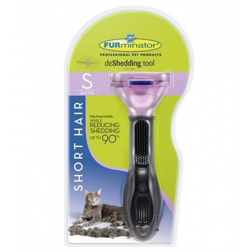 Tudo sobre 'Escova Furminator para Gatos Pequenos com Pelo Curto'