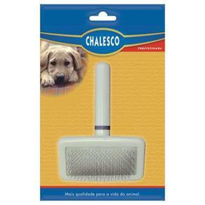 Escova Rasqueadeira Macia para Cães Chalesco Grande