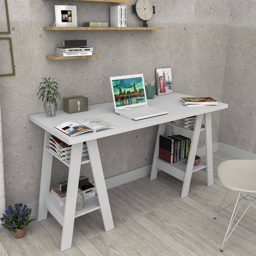 Tudo sobre 'Escrivaninha Cavalete Self Appunto - Branco'