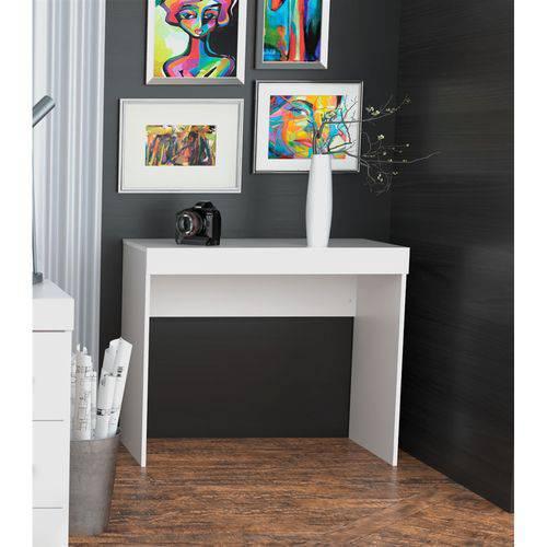 Tudo sobre 'Escrivaninha com 1 Gaveta Office Plus Appunto - Branco'