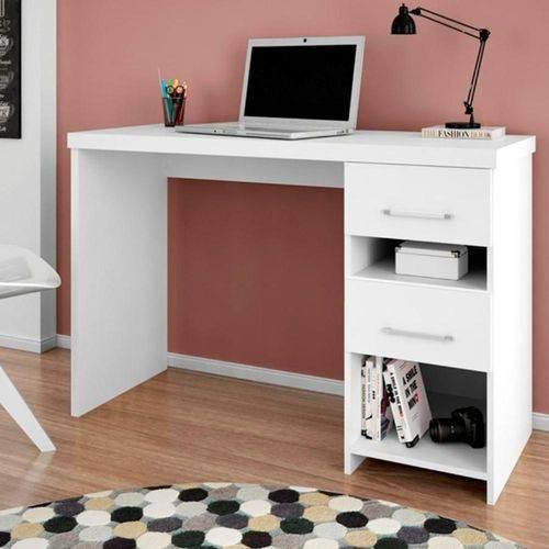 Escrivaninha Duna - Branco Acetinado - Germai Móveis