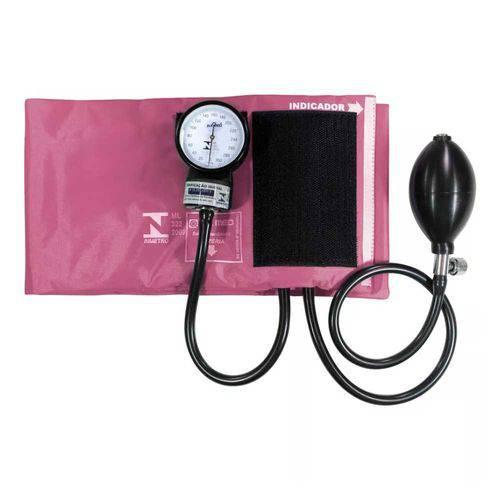 Esfigmomanômetro P.a.med Nylon e Fecho de Contato Pa2003 - Rosa