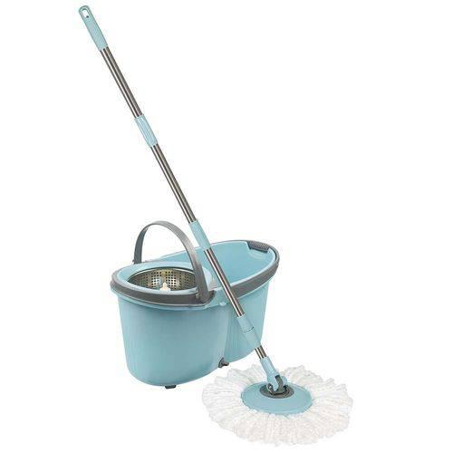Tudo sobre 'Esfregão Mop com Rodinhas Limpeza Prática'